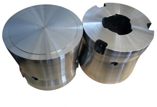 aluminum extrusion press block